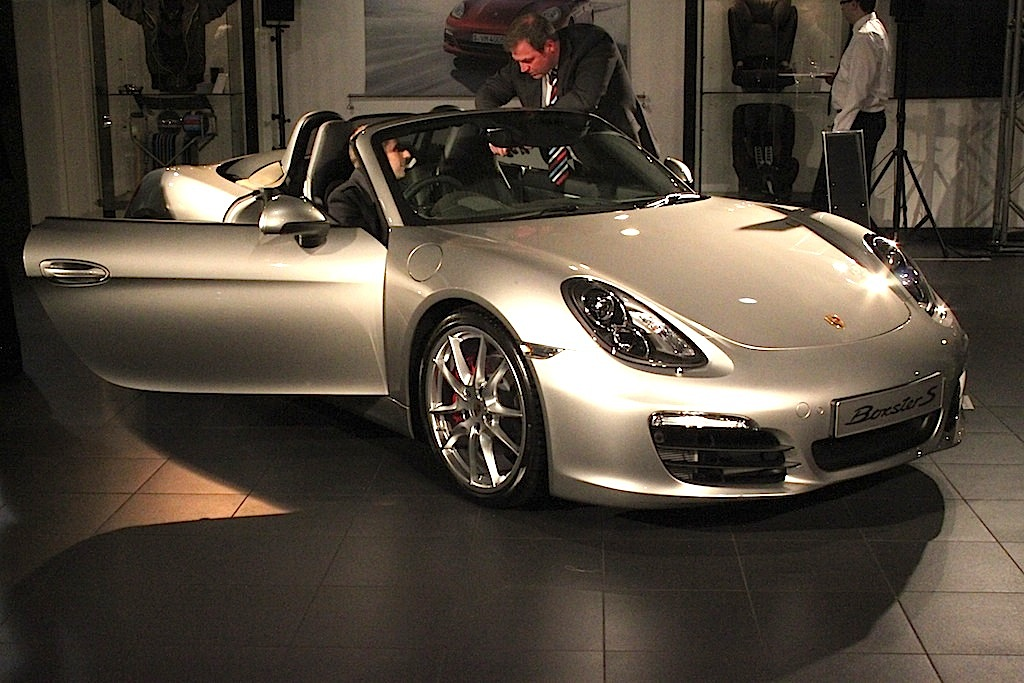 Porsche Boxster Preview