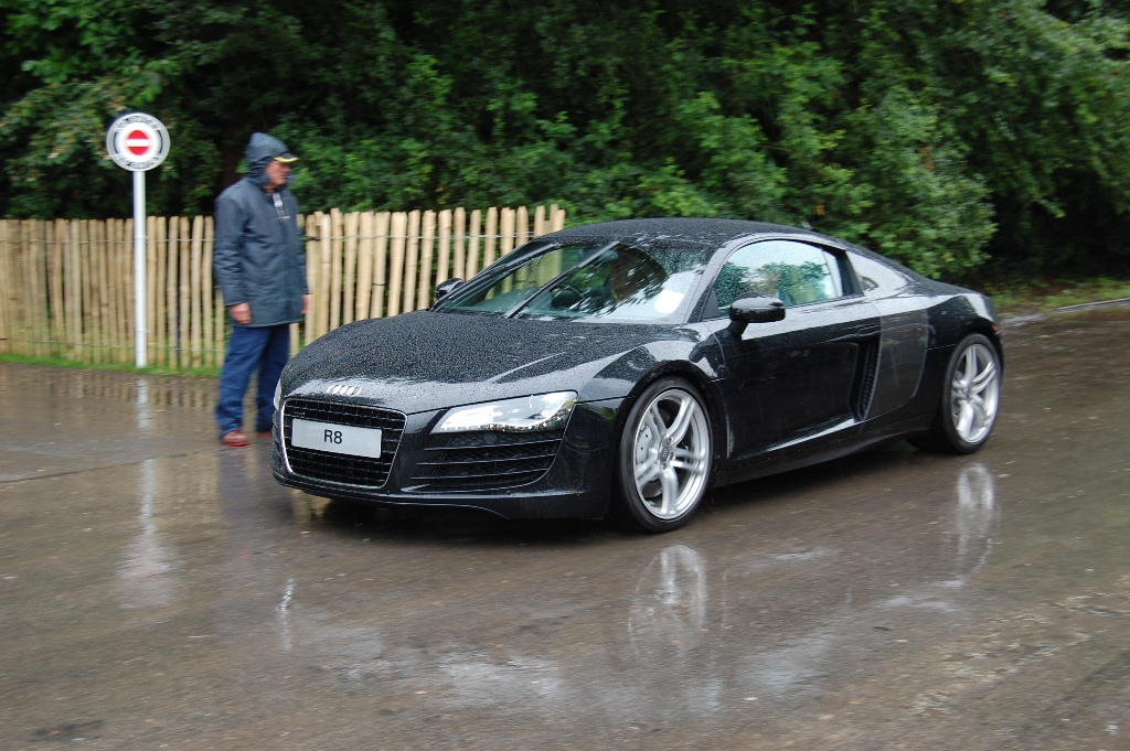 Audi r8 goodwood
