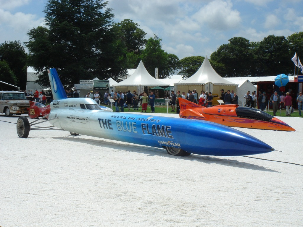 blue flame land speed record