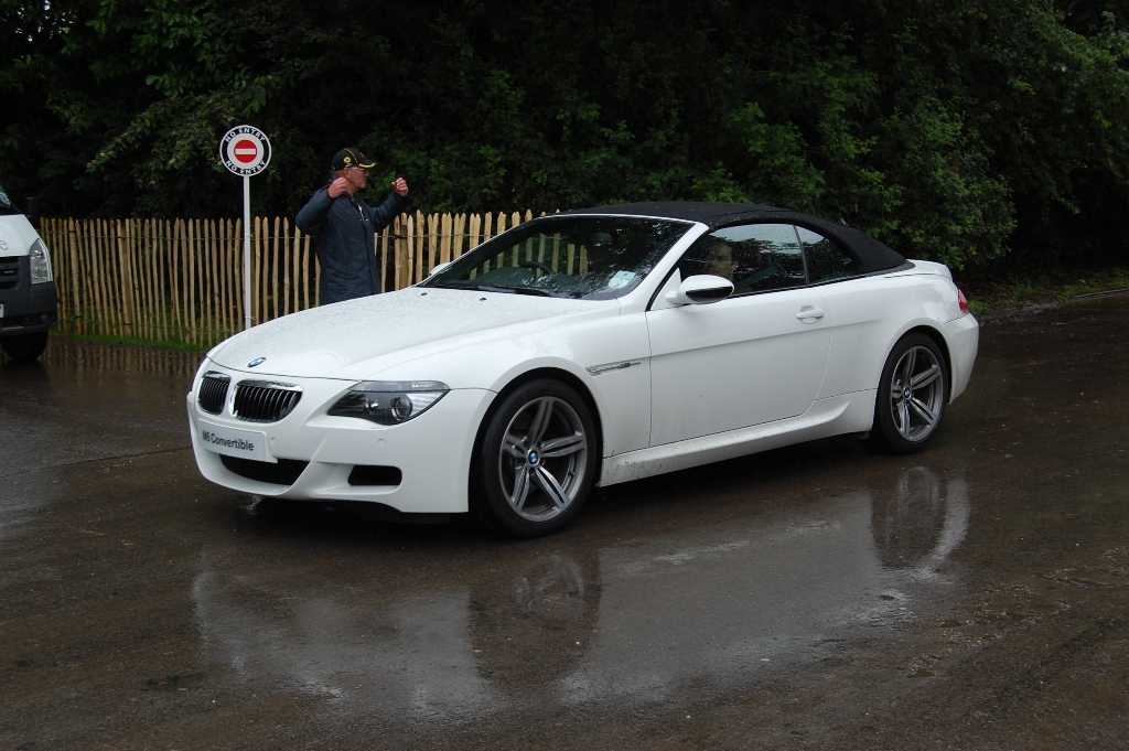 BMW M6 cabriolet goodwood