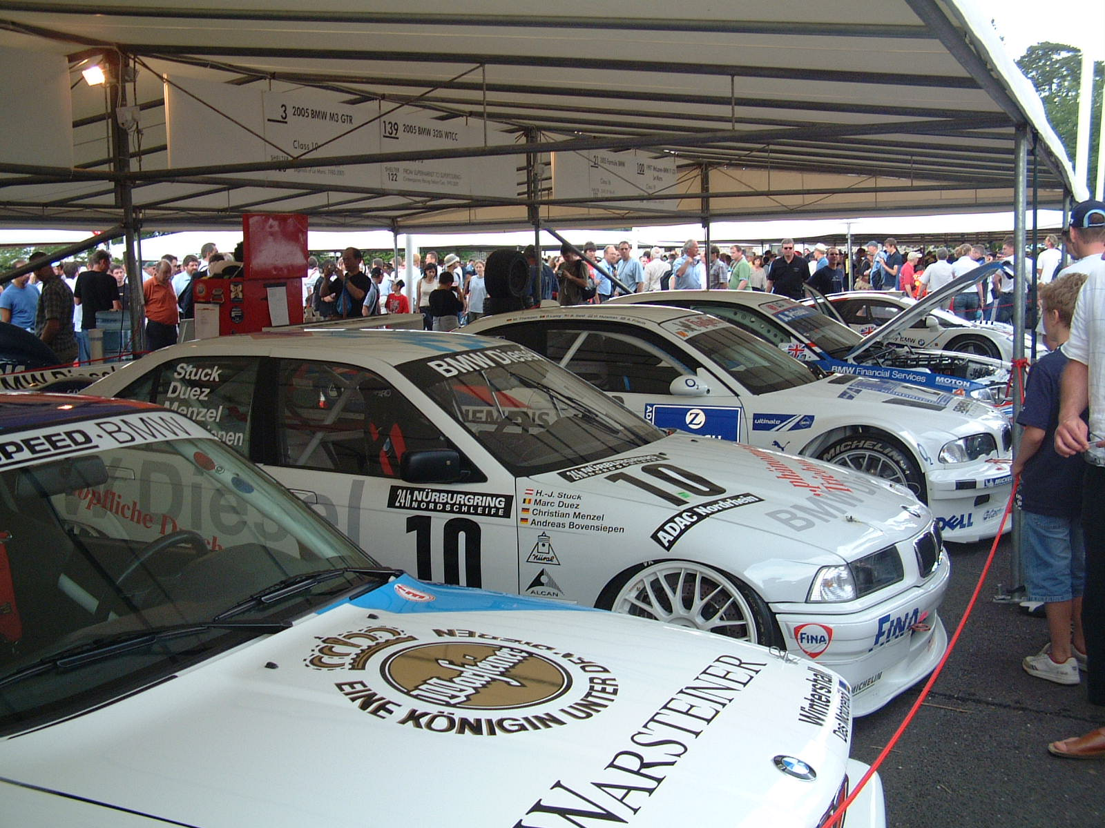 Goodwood Festival of Speed BMW Touring Cars