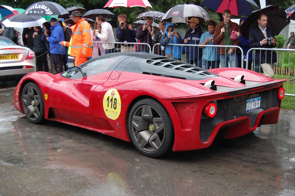 ferrari concept car goodwood