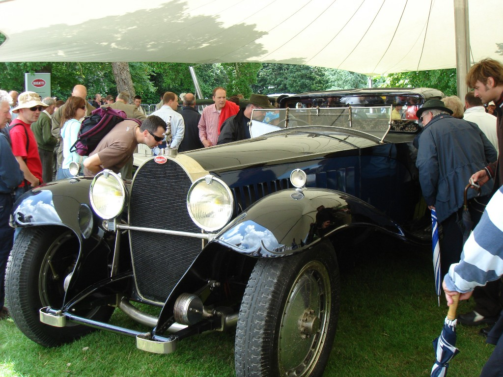 Goodwood vintage Bugatti