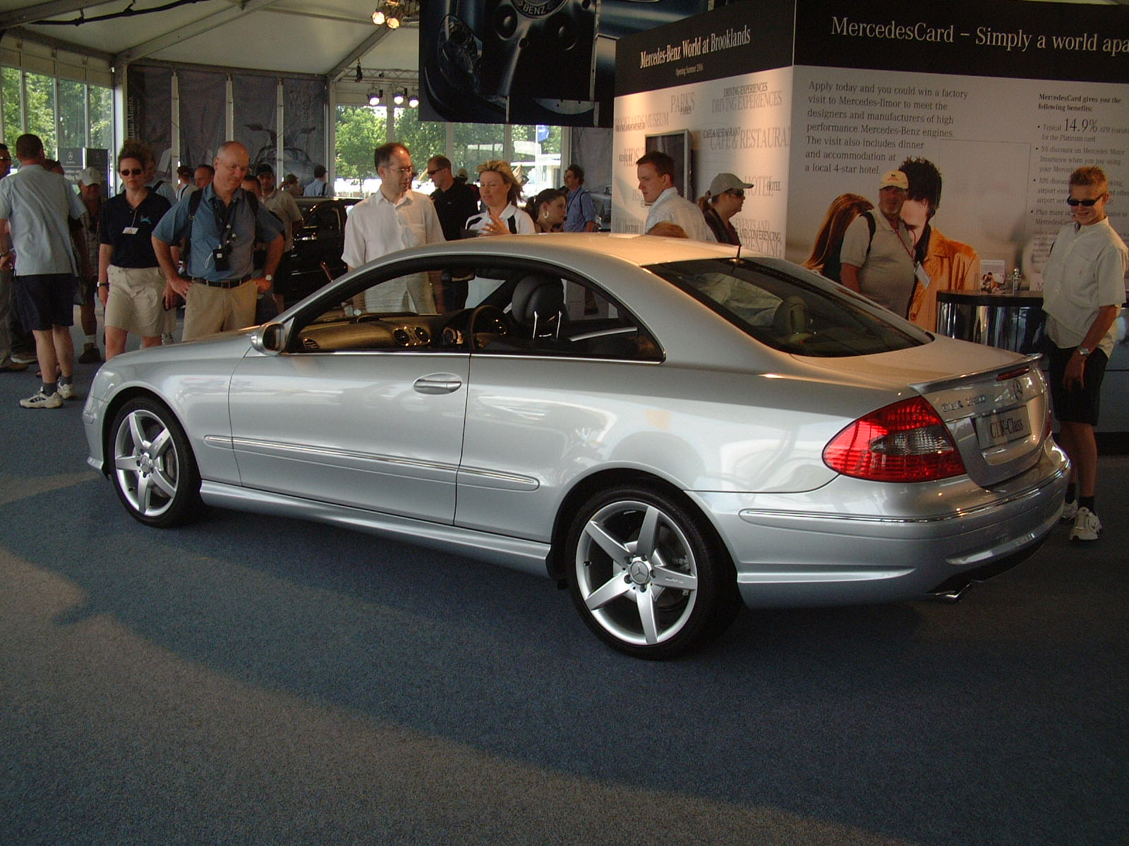 Goodwood Festival of Speed Mercedes-Benz CLK