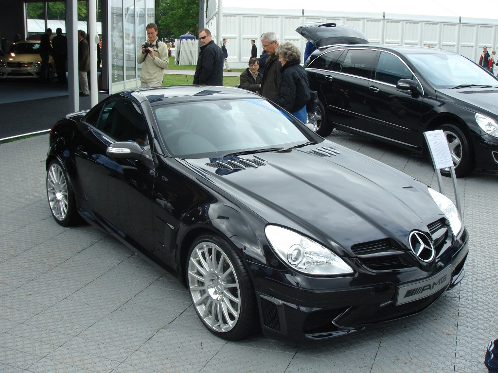 Mercedes-Benz slk amg goodwood