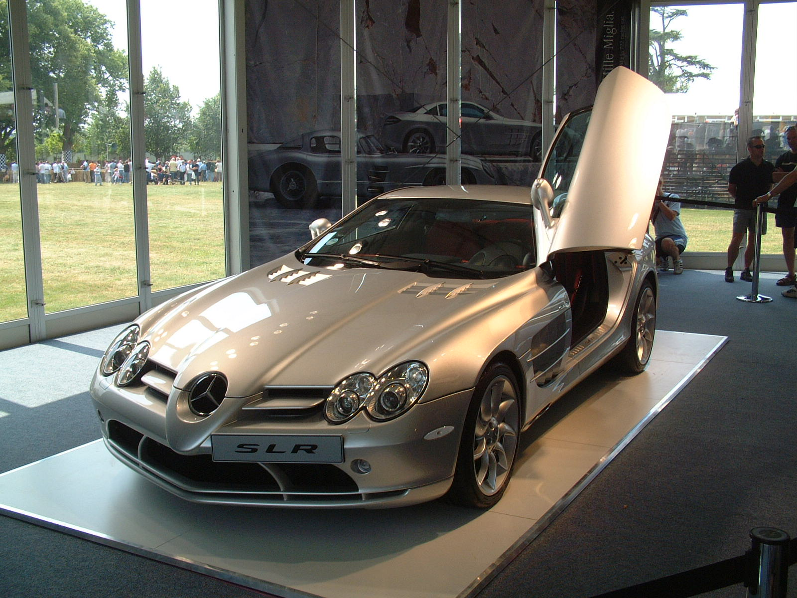 Goodwood Festival of Speed Mercedes-Benz SLR