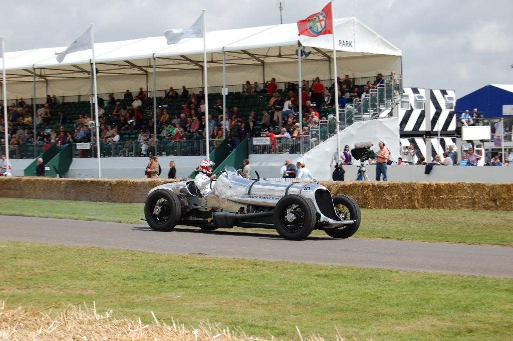 napier railton goodwood track