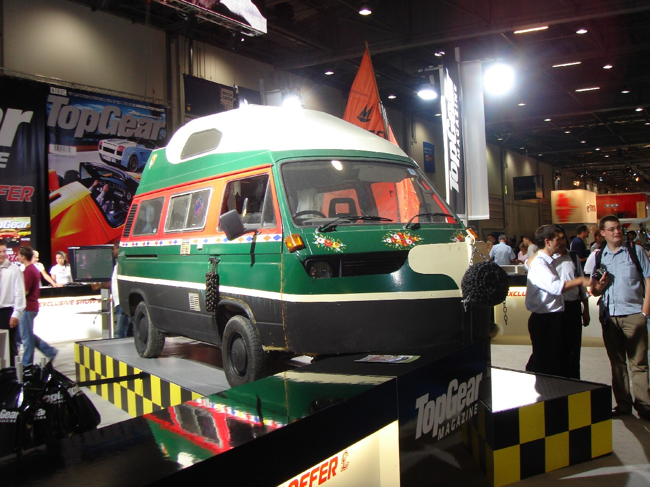Top Gear Camper Van Boat