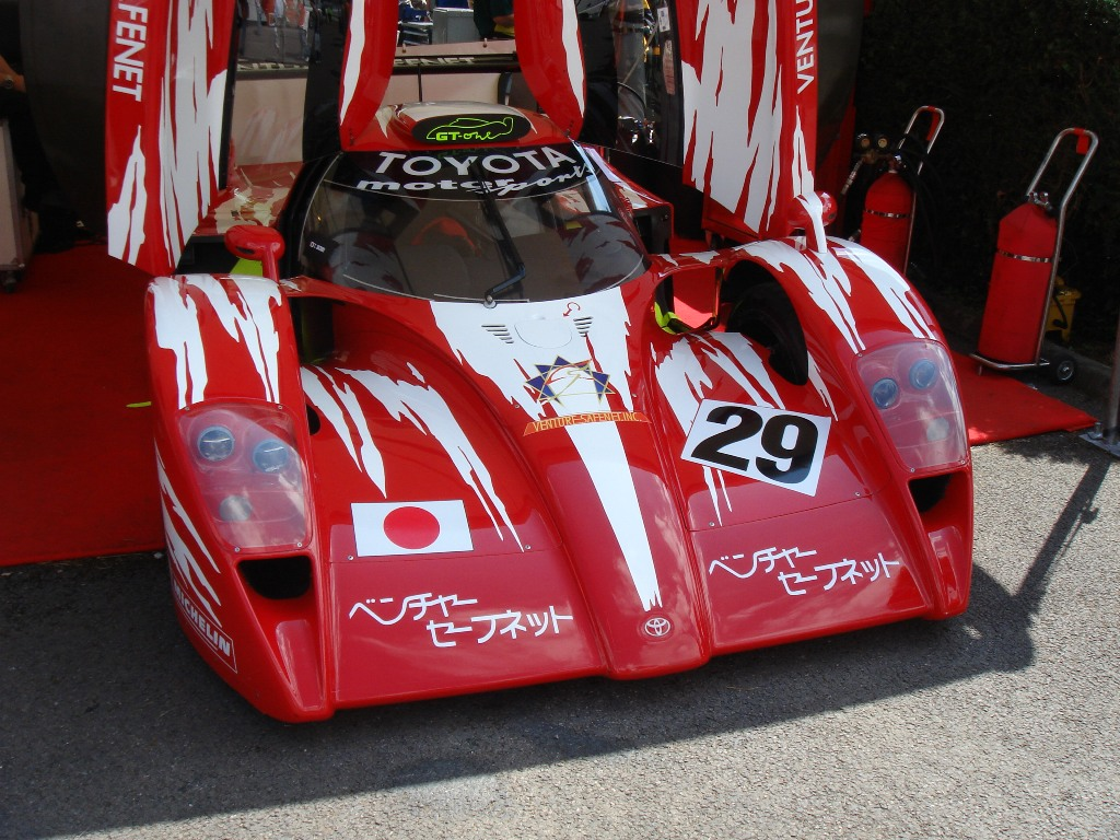 Toyota Le Mans Race Car