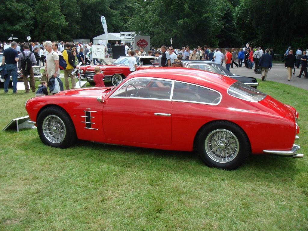 Vintage Ferrari 250