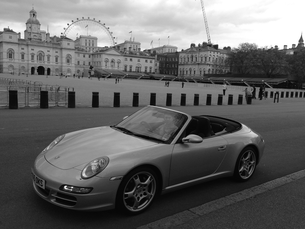 Porsche 997 Cabriolet in London