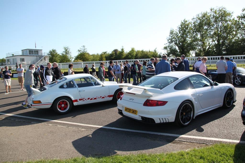 Porsche 911 997 White GT2