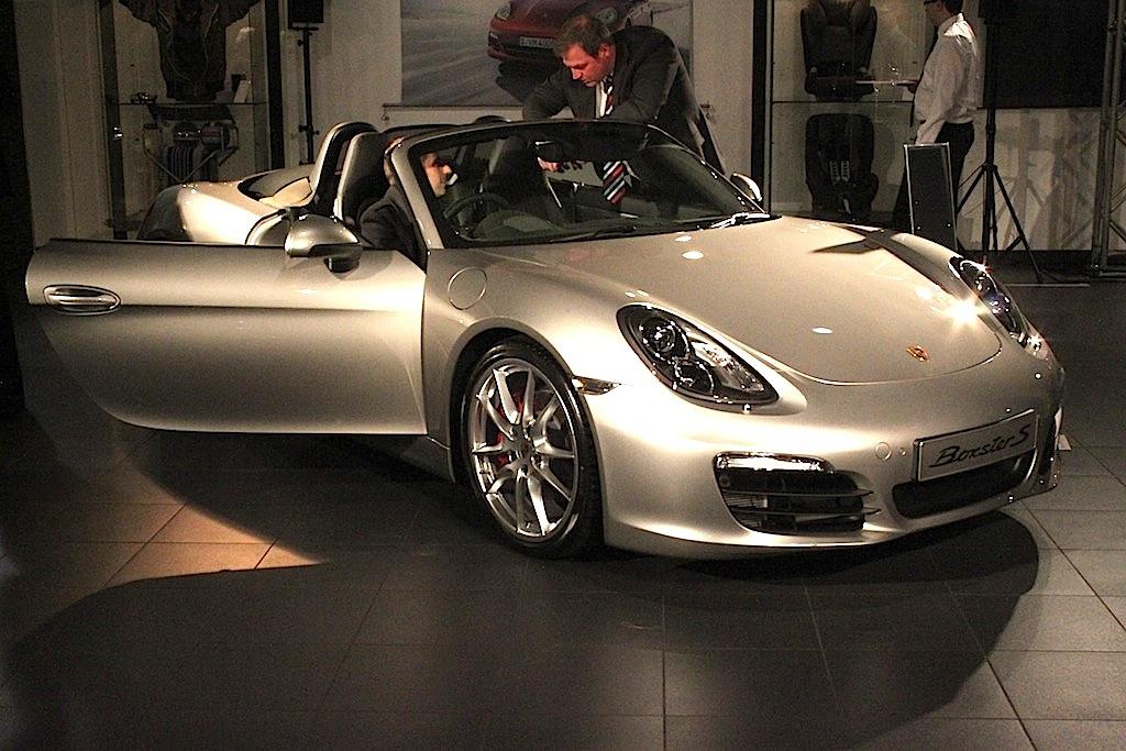 Porsche Boxster Preview