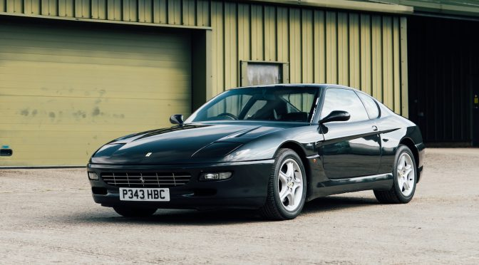 Ferrari 456 GTA Bought in auction